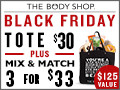 The Body Shop Black Friday Sale: 3 for $33 Entire Store Deals
