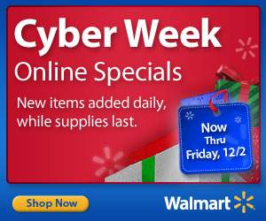 Walmart Thanksgiving Day Online Specials