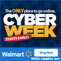 Walmart Cyber Week Sale Live Now Deals