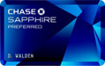 Chase Sapphire Preferred(SM) Credit card