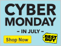 Deals on Best Buy Cyber Monday in July Sale: 55-inch LED HDTV for $479.99