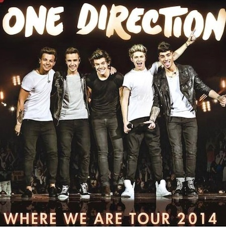 Find One Direction Where We Are 2014 Stadium Tour Tickets at VenueKings.com! Save $8 off $40+, Use code: SPRING14 at checkout. Shop Now!