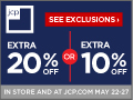 Extra 20% Off Purchases & 10% Off Furniture When You Use Your JCP Card