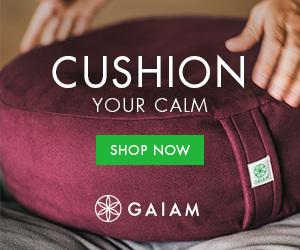 Gaiam Meditation Banner