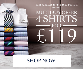 Charles Tyrwhitt - Shirts 4 for £110