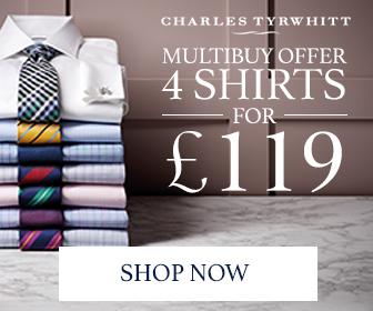 Charles Tyrwhitt - Shirts 4 For £110