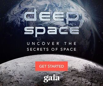 Gaia's Deep Space Landing Page