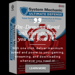 System Mechanic� Ultimate Defense�. Total Performance, Protection & Privacy In One Convenient Interface.