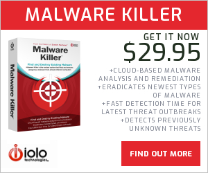 Find and Destroy Existing Malware with Malware Killer™.