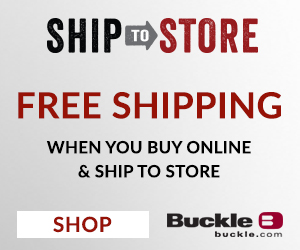 New Buckle Service: Buy online and pick up in store!
