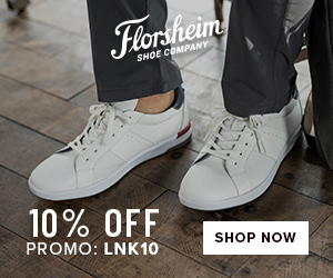 10% off Florsheim with code: LNK10