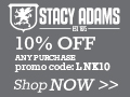 Stacy Adams 15% off Banner 300x250