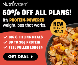 40% off NutriSystem Canada for men