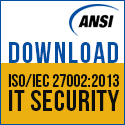 Download ISO/IEC 27002 IT Security Standard