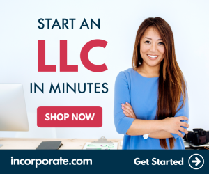 LLC or Corp? Incorporate online at incorporate.com