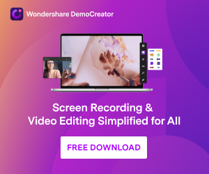 Capture video demos, tutorials, presentations, games and edit them quickly like a Pro.
