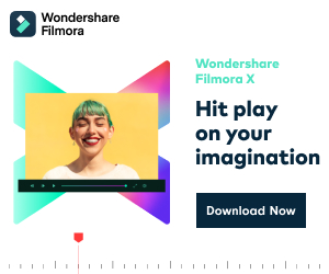 Wondershare Filmora X - Hit play on your imagination