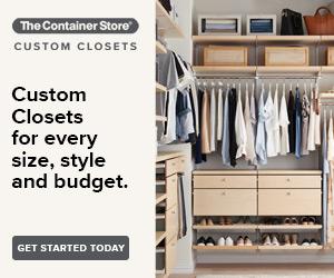Custom Closets Lead Gen Banners