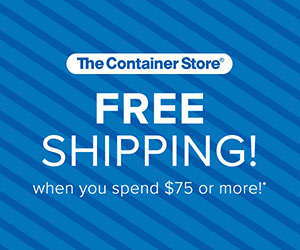 blue The Container Store Free Shipping image