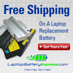 Replacement Laptop Batteries Shipped Fast