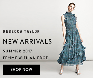 Rebecca Taylor New Arrivals.  Spring 2017: Femme With An Edge - Shop Now!