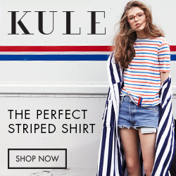 Kule: The Perfect Striped Shirt, Shop Now