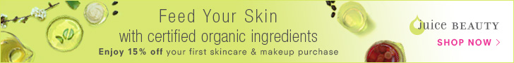 Feed Your Skin - 15% off first purchase plus free shipping over $30 - 728x90