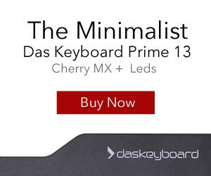 NEW Das Keyboard Prime 13