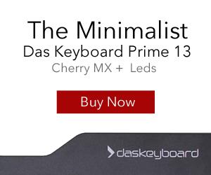 NEW Das Keyboard Prime 13