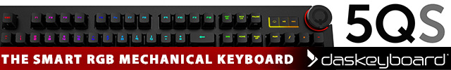 Das Keyboard 5QS Product Banners