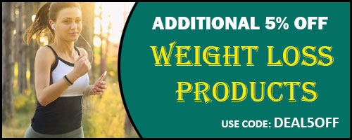 Additional 5% off on weight loss products