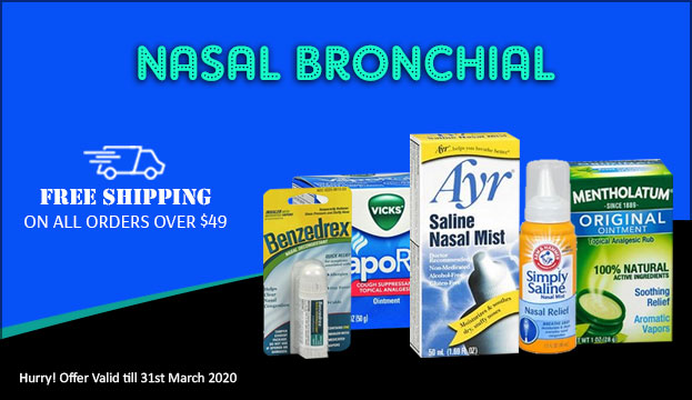 Free shipping on Nasal Bronchial support products