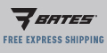 Bates Footwear sale ad with up to 50% off