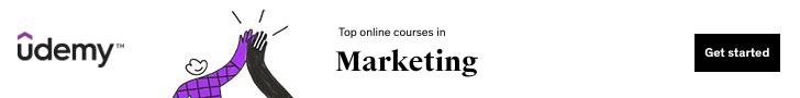 Top online courses in Marketing