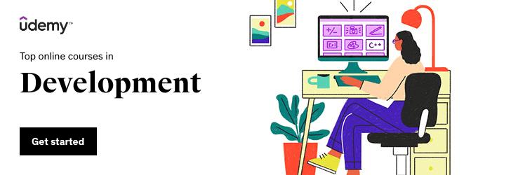 Top online courses in Development