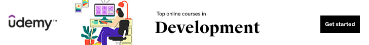 Top Online Courses in Development