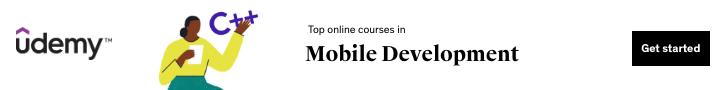 Top online courses in Mobile Development