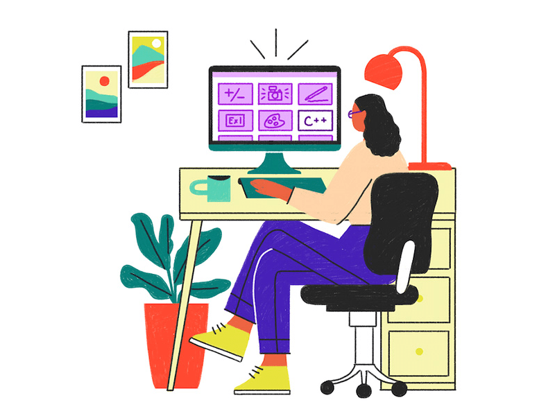 Banner will redirect to landing page with health and fitness courses.