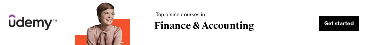 Top online courses in Finance & Accounting