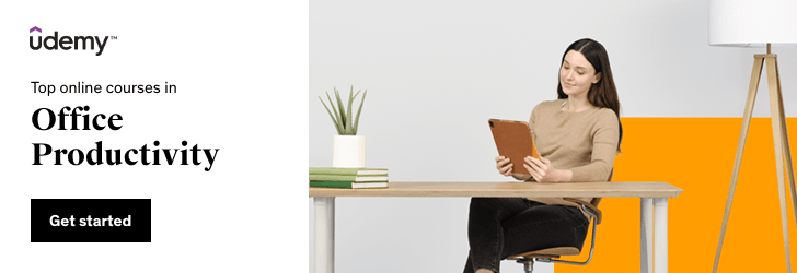 Top online courses in Office Productivity
