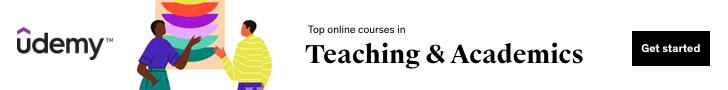 Top online courses in Teaching & Academics