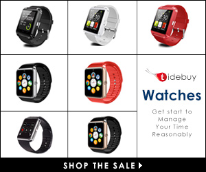 Tidebuy Watches-Get start to Manage Your Time Reasonably,Shop Now!