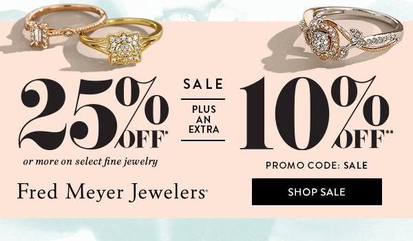Fred Meyer Jewelers - Sale