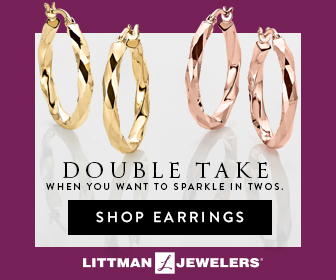 Littman Jewelers DOUBLE TAKE When you want to sparkle in twos. [Shop Earrings]