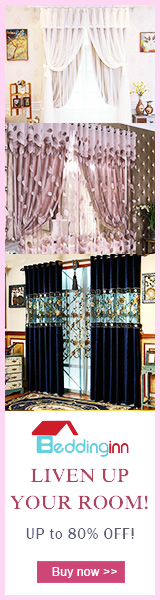 Beddinginn Curtains! Up to 80% Off! Visit Beddinginn.com For More Amazing Products & Surprising Discounts!