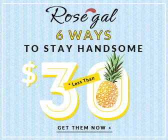 6 ways to stay handsome, stay young! Enjoy up to 61% OFF with Free Shipping in Rosegal.