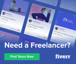 Fiverr.com for business services
