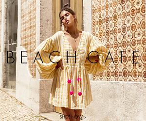 beach cafe designer swimwear