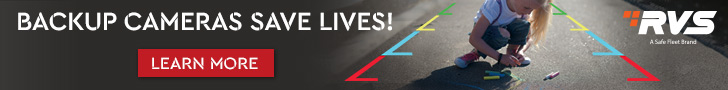Rear View Safety 728x90 Save Lives Banner