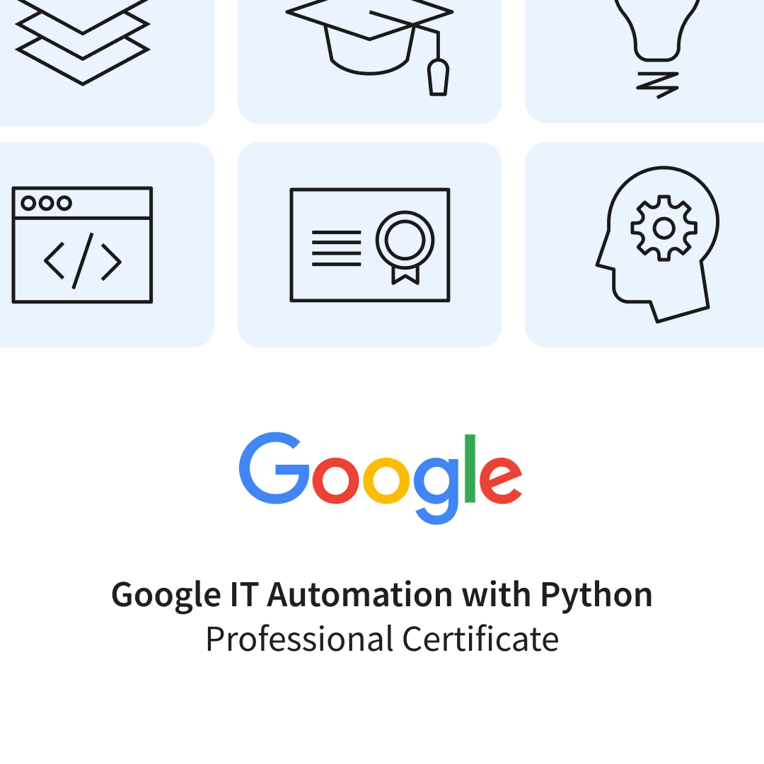 Google IT Automation with Python Professional Certificate Banner